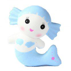 Creative Jumbo Squishy Mermaid Toy Scented Bread Cake Super Soft Slow Rising -