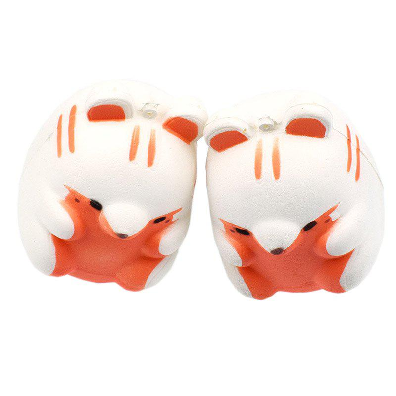 Affordable Jumbo Squishy Slow Rebound Simulation Small Hamster Decompression Toy 1PC