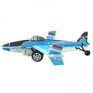 DIY Children Stereo Simulation Aircraft Model Puzzle -