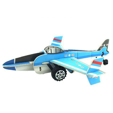 Outfit DIY Children Stereo Simulation Aircraft Model Puzzle