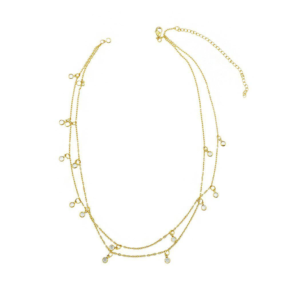 Sale Beach Style Gold Silver Color Bead Chain Waist Jewelry