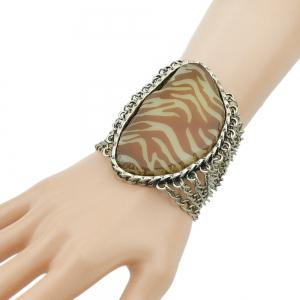 Punk Rock Style Silver Color Multi Layer Chain Bracelet -