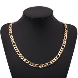 Fashion Side Pressure nk Figaro Necklace -
