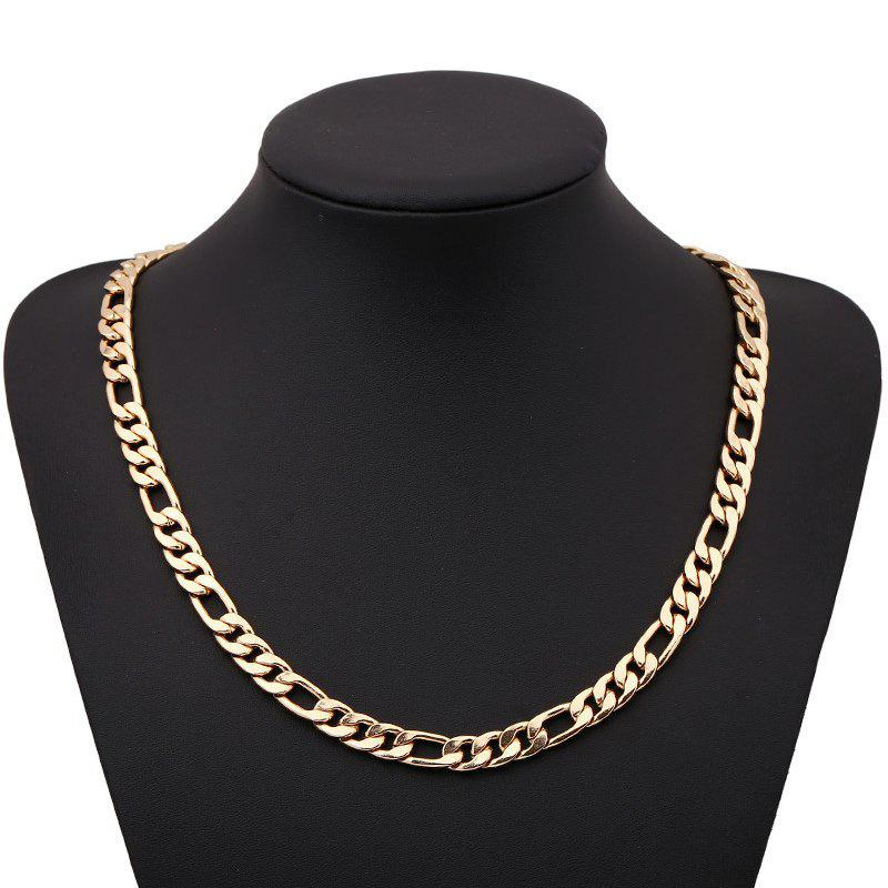 Buy Fashion Side Pressure nk Figaro Necklace