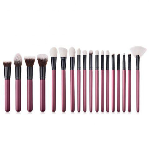 Fancy Dates Red High End Make Up Brush 18pcs