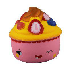 Jumbo Squishy Fruit Ice Cream Toys -
