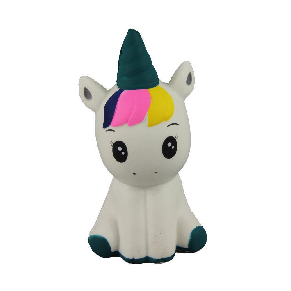 Discount Jumbo Squishy Beautiful Unicorn Relieve Stress Toys 1PC