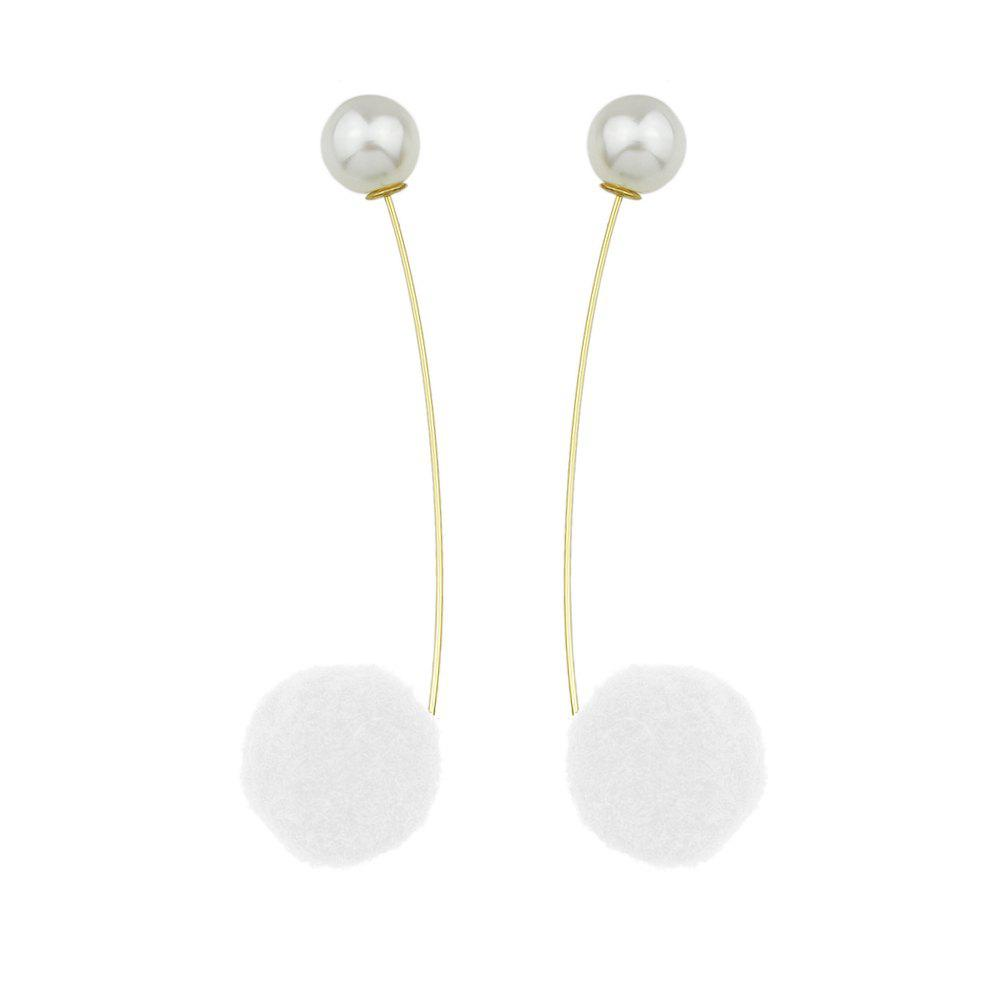 New Minimalist StyleSimulated-pearl Long Hanging Earrings