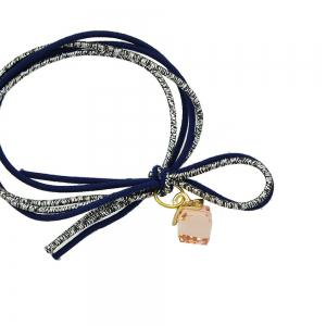 Colorful Rope with Crystal Decoration Headband -