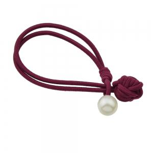 Colorful Rope Chain with Simulated-pearl Headband -