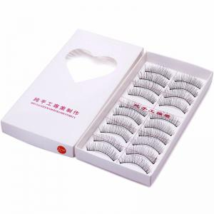 10 Pairs False Eyelashes Natural Makeup Handmade Soft Lashes -