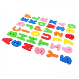 Baby Foam Letter and Numbers Stickers Water Stickers Toy 36PCS -