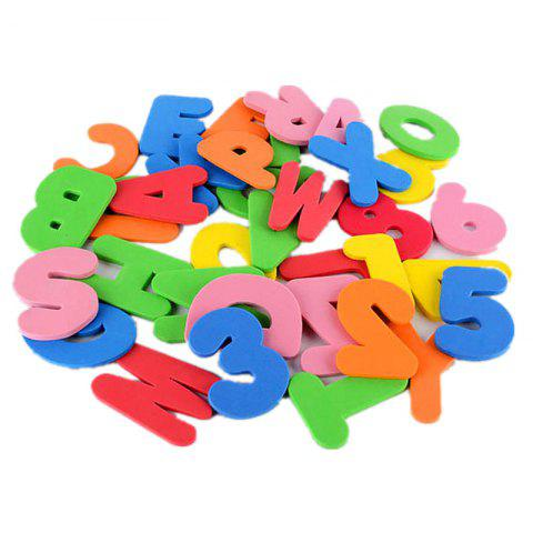 Sale Baby Foam Letter and Numbers Stickers Water Stickers Toy 36PCS