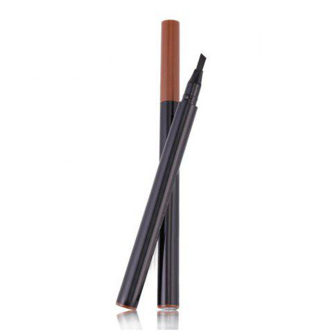 Affordable Natural Durable Waterproof Micro-Carving Four-Pronged Liquid Eyeliner