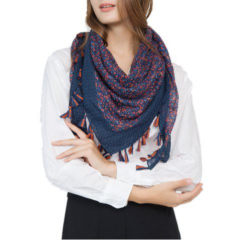 Outfits Flower Fashion Travel Cotton and Linen Scarves