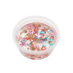 DIY Fruit Slices Mixed Soft Clay Supplies Crystal Mud for Kid Stress Relief Toy -