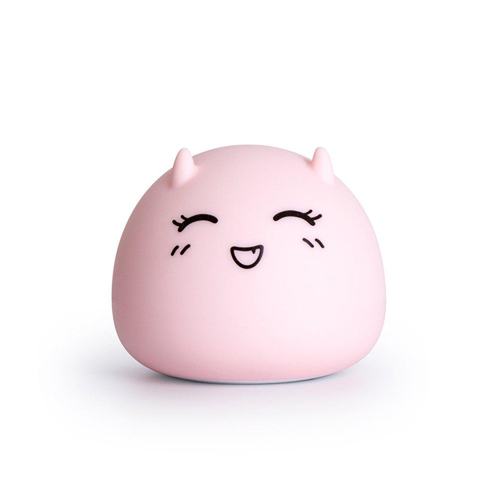 Fancy Little Devil Baby Portable  USB Charging Cartoon Silicone Pat Light