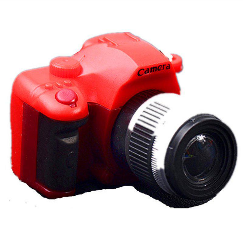 Shops Retro SLR Camera LED Flash Shutter Sound Key Button