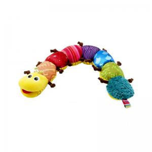 Animaux de dessin animé mignon Early Learning Education Enfants Musique Caterpillar Toy -