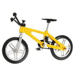 Creative Simulation Mini Alloy Bicycle Finger Forklift Toy -