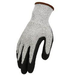 OZERO Cut Resistant Gloves with CE Level 5 Protection Nitrile Coated Durable -