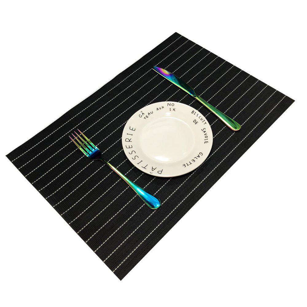 Outfit Stripe Style Waterproof Tableware Pad Dining Table Mat