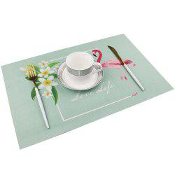 Fashion Waterproof Tableware Pad Dining Table Mat -