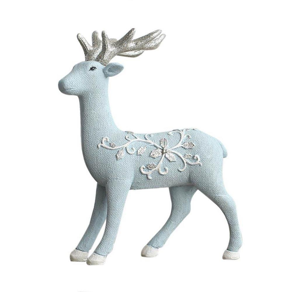 Cheap Nordic Minimalist Living Room Bedroom Decoration Resin Crafts Elk Ornament