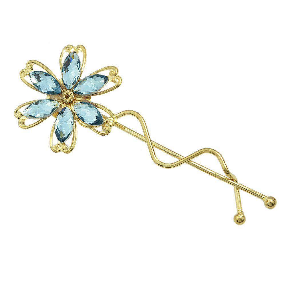 Store Colorful Rhinestone Flower Barrettes Hairpin