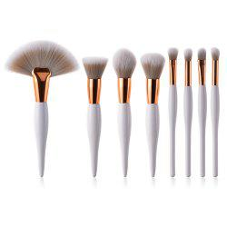 8PCS Professional Makeup Tool Beauty Cosmetic Eyeshadow Powder Brush Set -