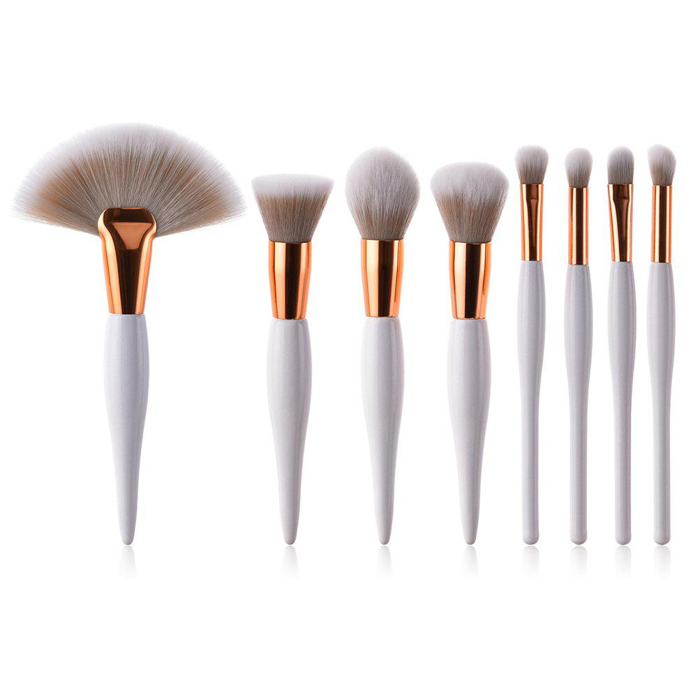 Unique 8PCS Professional Makeup Tool Beauty Cosmetic Eyeshadow Powder Brush Set