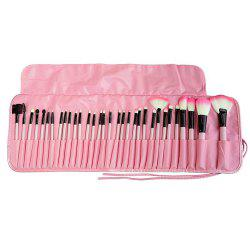 32 PCS Mini Ombre à Paupières Concealer Poudre Maquillage Brush Set Make Up Outil -