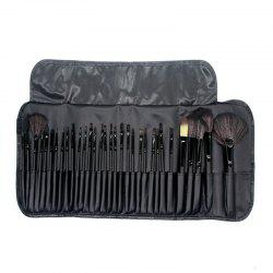 32PCS Mini Eyeshadow Concealer Powder Makeup Brush Set Make Up Tool -
