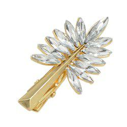 Gold Silver Color Full Rhinestone Hairpin -