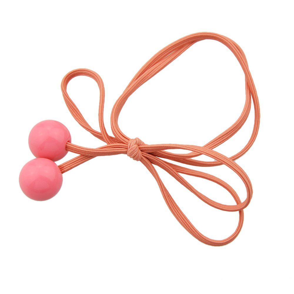 Latest Lovely Candy Color Bowknot Bead Hairband