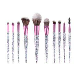 10PCS EyeShadow Make Up brosse outil de beauté Set -