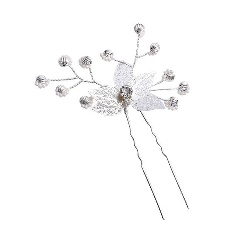 Discount Fashion Bridal Gown with Crysta Hairpin Accessories