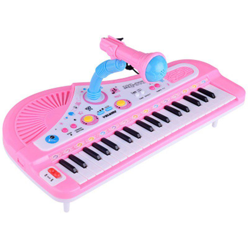 Music Multi-function Piano Toy with 37 Key Electronic Organ and Microphone 275018601