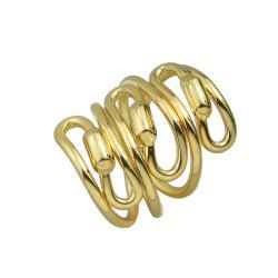 Gold Silver Color Alloy Finger Rings for Women -