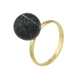Cute Colorful Stone Finger Rings -