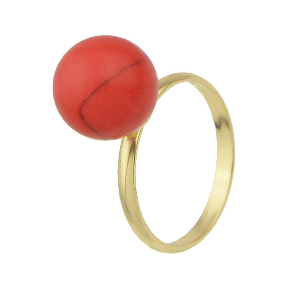 Online Cute Colorful Stone Finger Rings