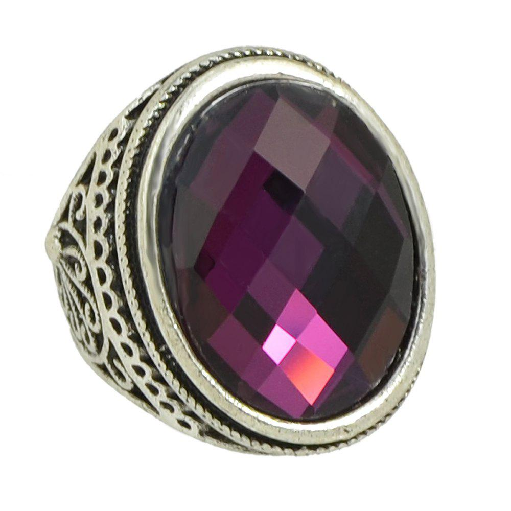 Latest Vintage Large Gemstone Ring for Women