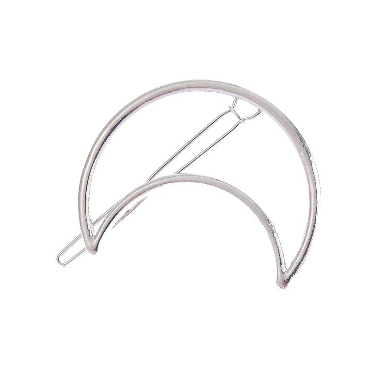 Store New Moon Round Fringe Hair Clip