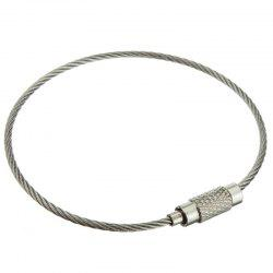 Stainless Steel Wire  Key Ring -