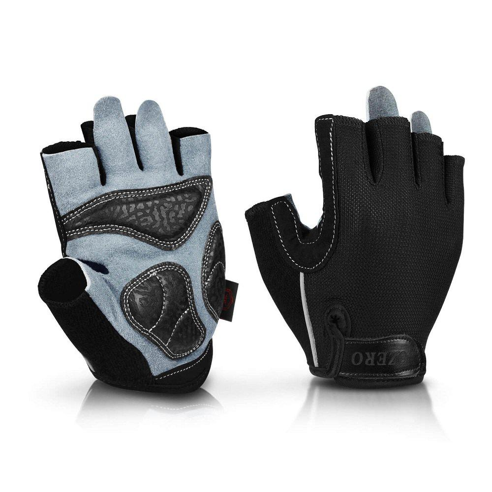 Shops OZERO Cycling Gloves Racing Bicycle MTB Gel Half Finger Gloves Soft Breathable