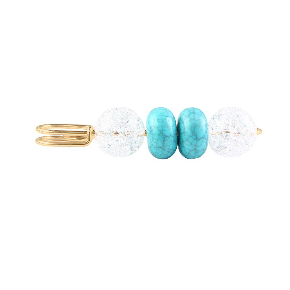 Unique Simple Style Popular Texture Flat Ball Brooch