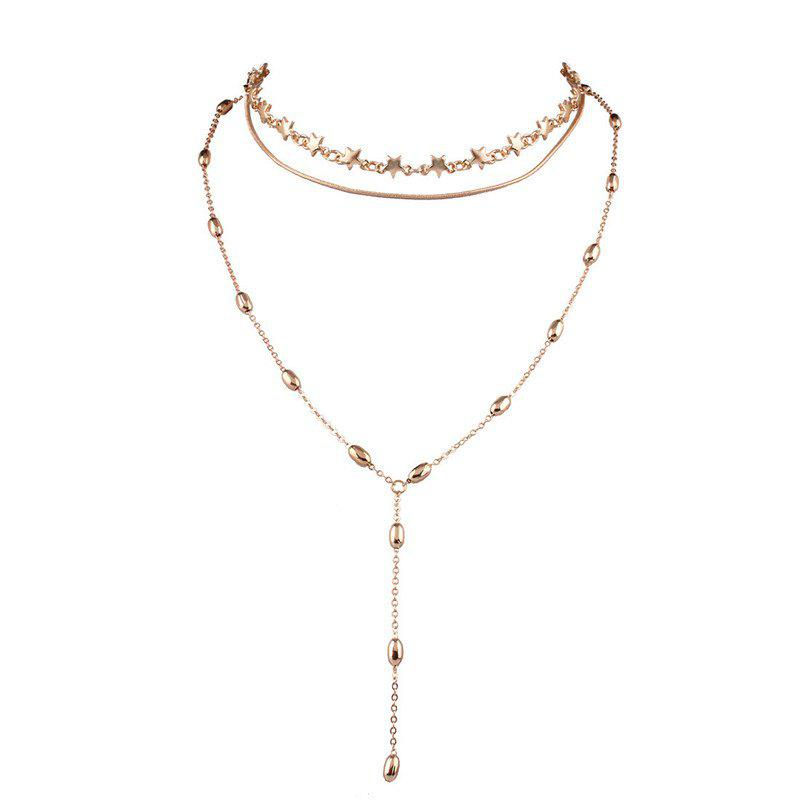 Best Star Pendant Clavicle Necklace for Women Jewelry Accessories