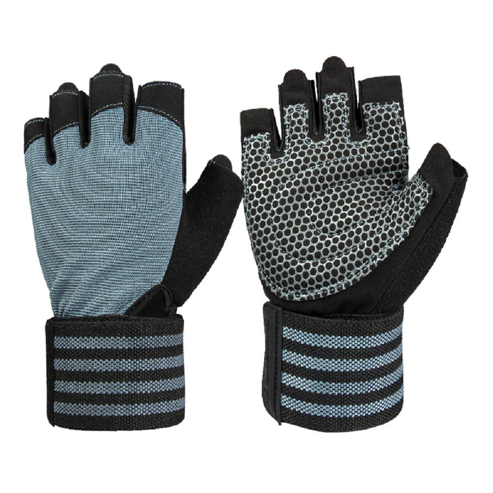 Buy OZERO Fitness Gloves with 19 in Wrist Wrap Support Extra Grip Workout Gloves