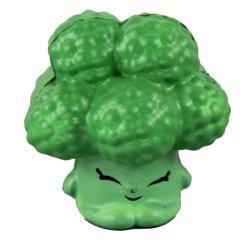 Brocoli Squishy Green Jumbo soulager les jouets de stress -