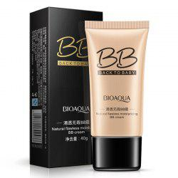 BIOAQUA Crème Hydratante BB Naturelle Flawless Naturelle Marron 40G -